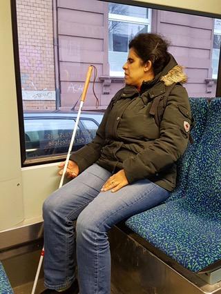 Mit Bus und Bahn zumBloggertreffen