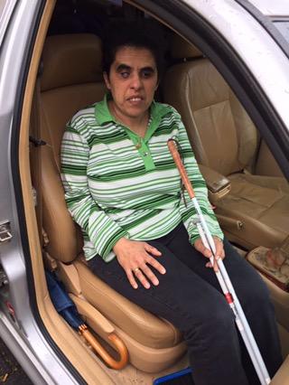 Wie transportiert man Blinde imAuto?